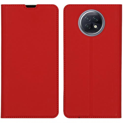 Slim Folio Book Case voor de Xiaomi Redmi Note 9T (5G) - Rood