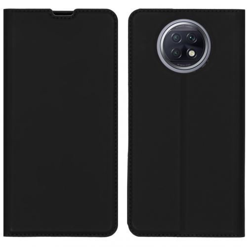 Slim Folio Book Case voor de Xiaomi Redmi Note 9T (5G) - Zwart