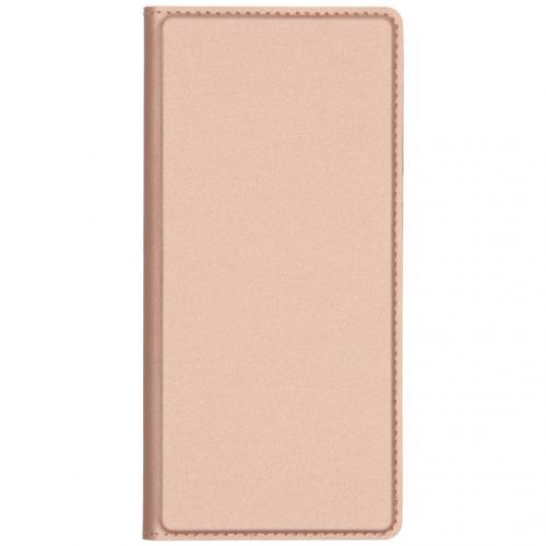 Slim Softcase Booktype voor de Huawei Mate 30 Pro - Rosé Goud