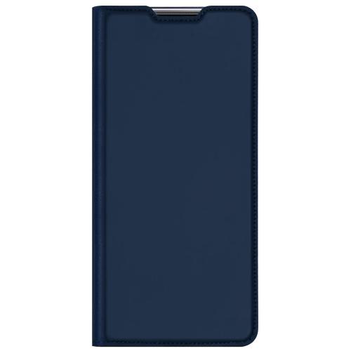 Slim Softcase Booktype voor de Huawei P Smart (2021) - Donkerblauw
