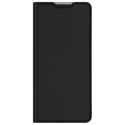 Slim Softcase Booktype voor de Huawei P Smart (2021) - Zwart