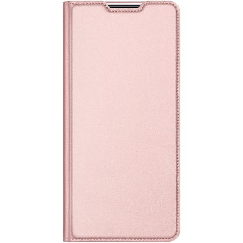Slim Softcase Booktype voor de Huawei Y6p - Rosé Goud