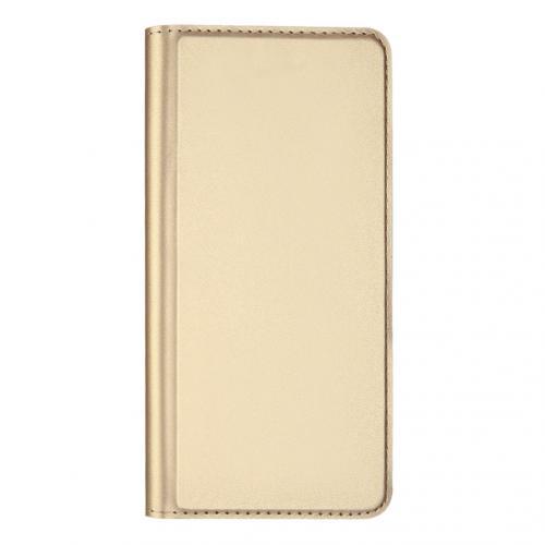 Slim Softcase Booktype voor de iPhone 11 Pro - Goud