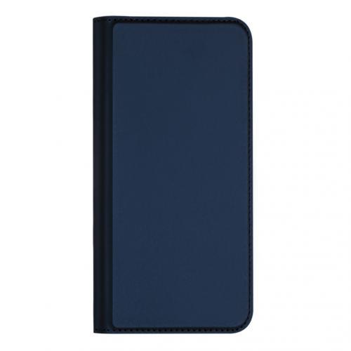 Slim Softcase Booktype voor de iPhone 11 Pro Max - Donkerblauw