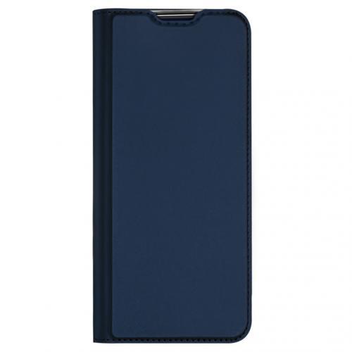 Slim Softcase Booktype voor de Motorola Moto E7 Plus / G9 Play - Donkerblauw
