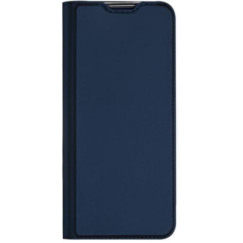 Slim Softcase Booktype voor de Motorola Moto G 5G Plus - Donkerblauw