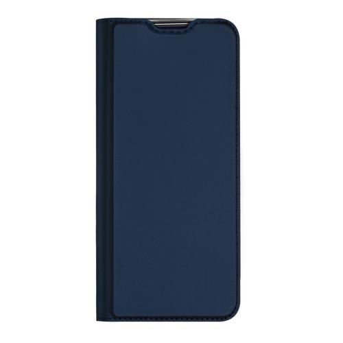 Slim Softcase Booktype voor de OnePlus 8 - Donkerblauw