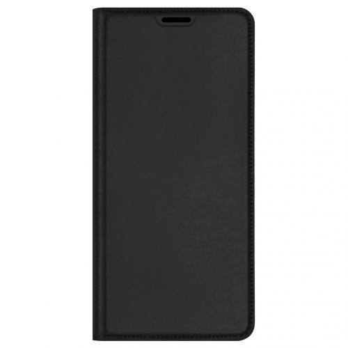 Slim Softcase Booktype voor de OnePlus 9 Pro - Zwart