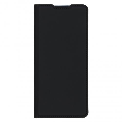 Slim Softcase Booktype voor de Oppo Reno3 Pro - Zwart