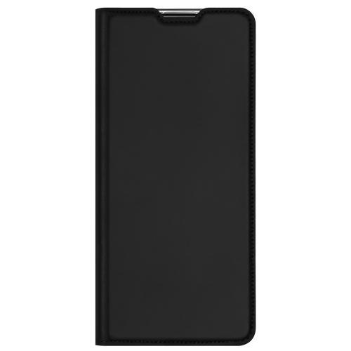 Slim Softcase Booktype voor de Oppo Reno4 Z 5G - Zwart
