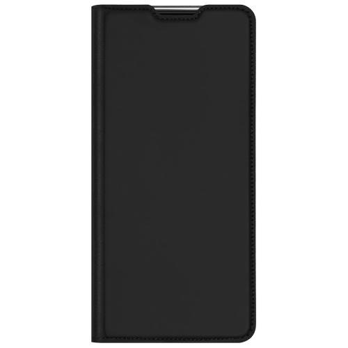 Slim Softcase Booktype voor de Samsung Galaxy A02s - Zwart