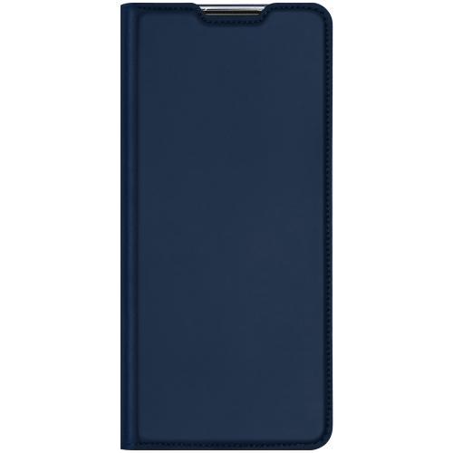 Slim Softcase Booktype voor de Samsung Galaxy M11 / A11 - Donkerblauw