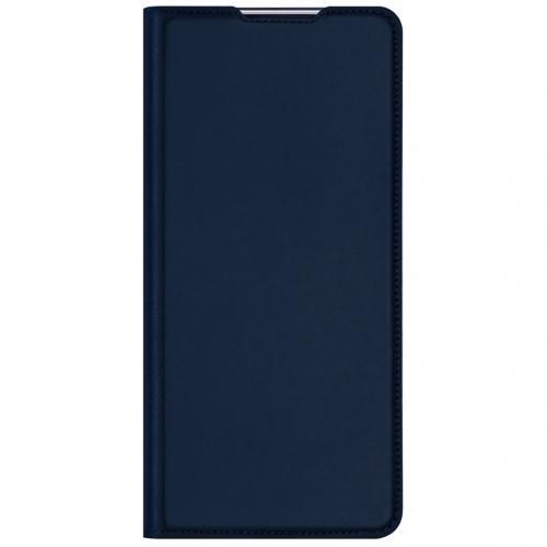 Slim Softcase Booktype voor de Samsung Galaxy M31s - Donkerblauw