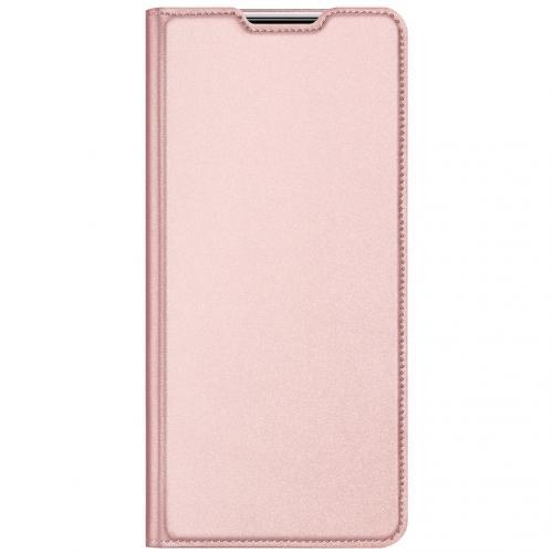 Slim Softcase Booktype voor de Samsung Galaxy M31s - Rosé Goud