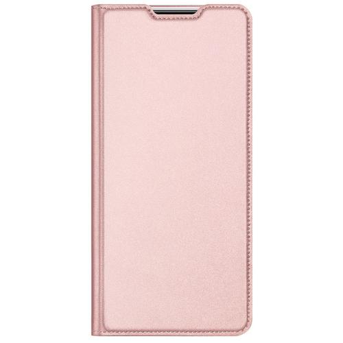 Slim Softcase Booktype voor de Samsung Galaxy M51 - Rosé Goud