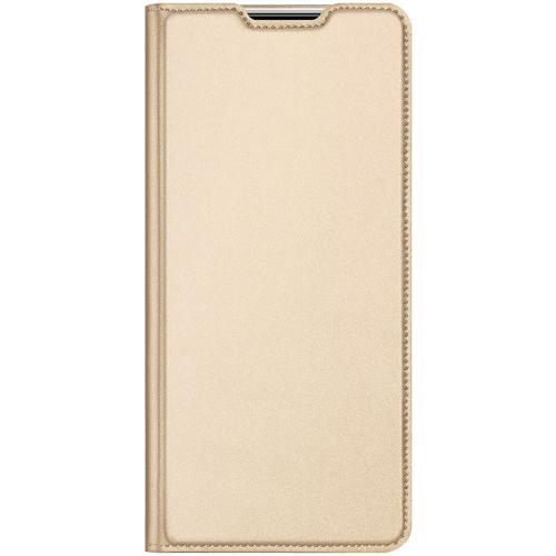 Slim Softcase Booktype voor de Samsung Galaxy Note 20 - Goud