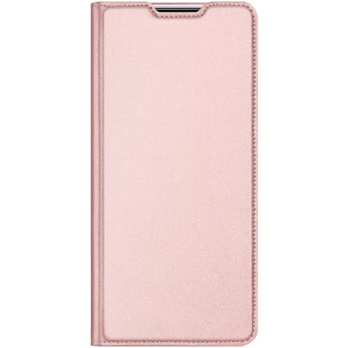 Slim Softcase Booktype voor de Samsung Galaxy Note 20 - Rosé Goud
