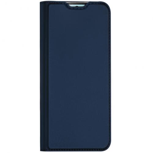 Slim Softcase Booktype voor de Samsung Galaxy S10 Lite - Blauw