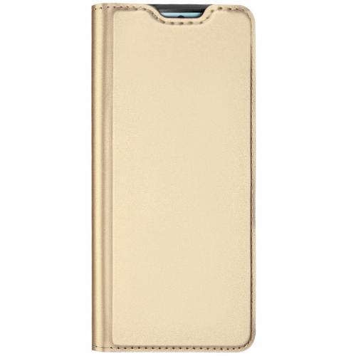 Slim Softcase Booktype voor de Samsung Galaxy S10 Lite - Goud