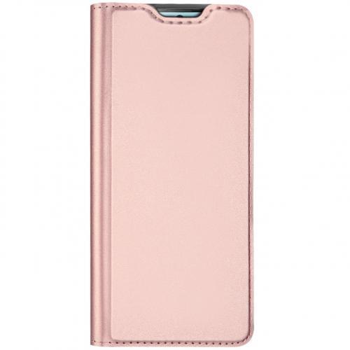 Slim Softcase Booktype voor de Samsung Galaxy S10 Lite - Rosé Goud