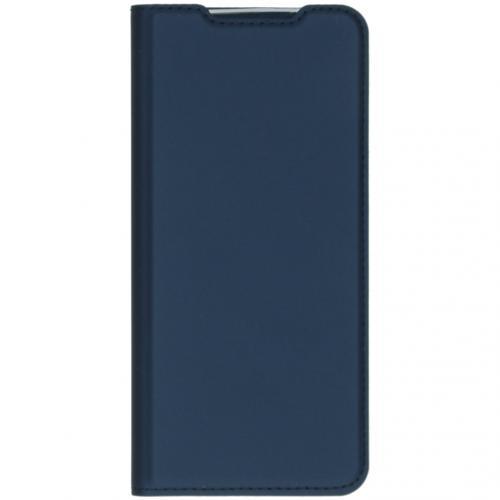Slim Softcase Booktype voor de Samsung Galaxy S20 - Donkerblauw