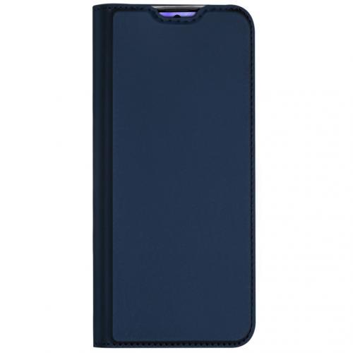 Slim Softcase Booktype voor de Samsung Galaxy S20 Plus - Donkerblauw