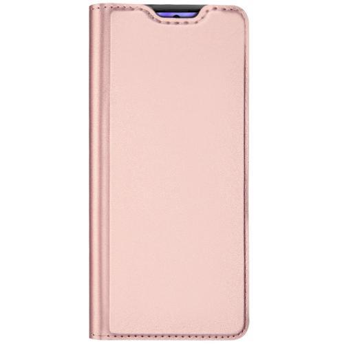 Slim Softcase Booktype voor de Samsung Galaxy S20 Plus - Rosé Goud