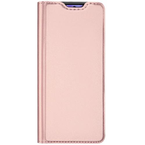 Slim Softcase Booktype voor de Samsung Galaxy S20 - Rosé Goud