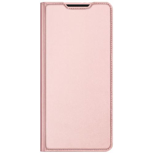 Slim Softcase Booktype voor de Samsung Galaxy S21 Plus - Rosé Goud