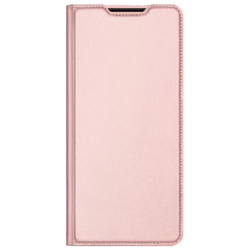 Slim Softcase Booktype voor de Samsung Galaxy S21 - Rosé Goud