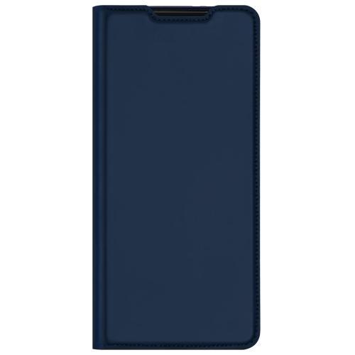 Slim Softcase Booktype voor de Samsung Galaxy S21 Ultra - Donkerblauw