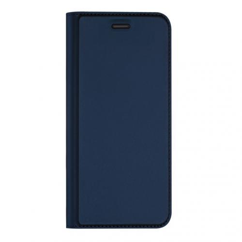 Slim Softcase Booktype voor de Sony Xperia 10 II - Donkerblauw