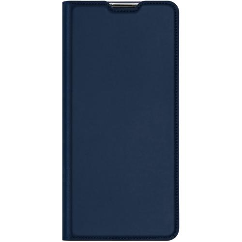 Slim Softcase Booktype voor de Sony Xperia L4 - Donkerblauw