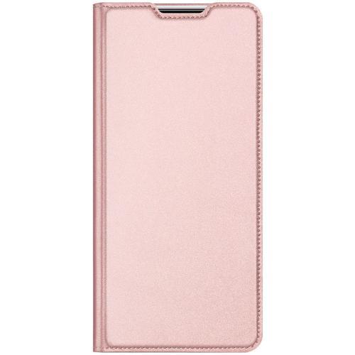 Slim Softcase Booktype voor de Xiaomi Mi 10 Lite - Rosé Goud