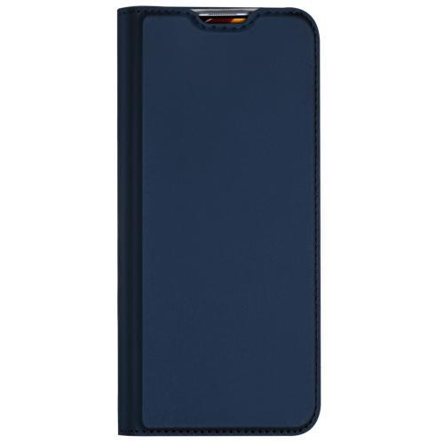 Slim Softcase Booktype voor de Xiaomi Mi 10 (Pro) - Donkerblauw