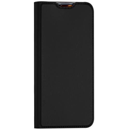 Slim Softcase Booktype voor de Xiaomi Mi 10 (Pro) - Zwart
