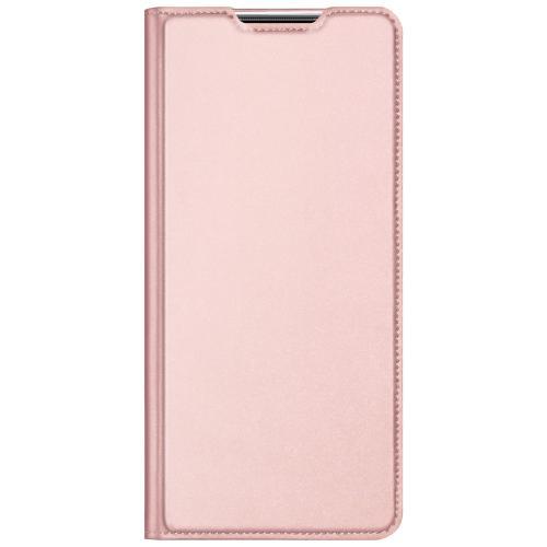 Slim Softcase Booktype voor de Xiaomi Mi 10T Lite - Rosé Goud