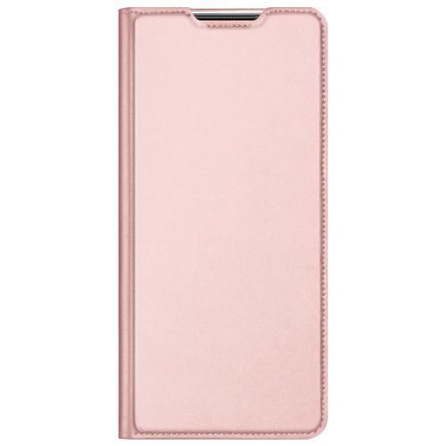 Slim Softcase Booktype voor de Xiaomi Poco M3 - Rosé Goud