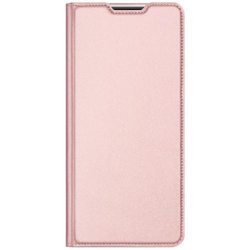 Slim Softcase Booktype voor de Xiaomi Poco X3 - Rosé Goud