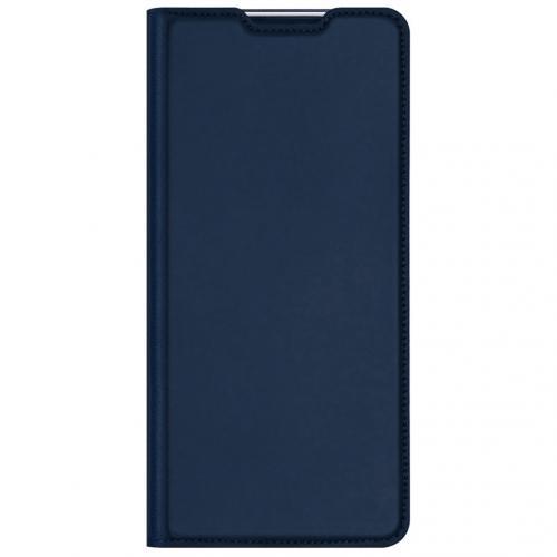 Slim Softcase Booktype voor de Xiaomi Redmi 9A - Donkerblauw