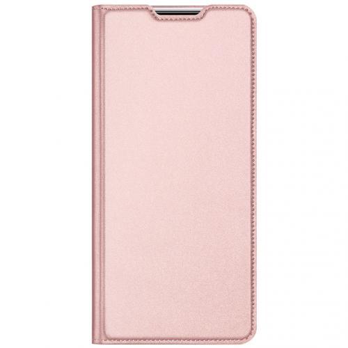 Slim Softcase Booktype voor de Xiaomi Redmi 9A - Rosé Goud