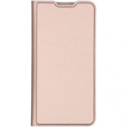 Slim Softcase Booktype voor de Xiaomi Redmi Note 8 Pro - Rosé Goud