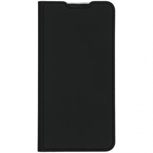 Slim Softcase Booktype voor de Xiaomi Redmi Note 8 Pro - Zwart
