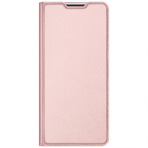 Slim Softcase Booktype voor de Xiaomi Redmi Note 9 Pro / 9S - Rosé Goud
