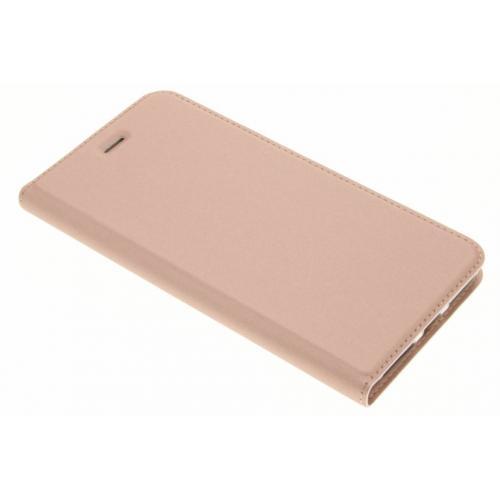 Slim Softcase Booktype voor iPhone 8 Plus / 7 Plus - Rosé goud
