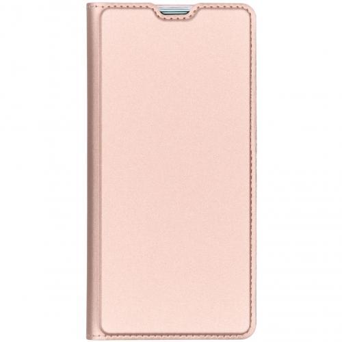 Slim Softcase Booktype voor Samsung Galaxy S10 Plus - Rosé goud