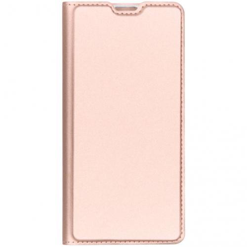 Slim Softcase Booktype voor Samsung Galaxy S10 - Rosé goud
