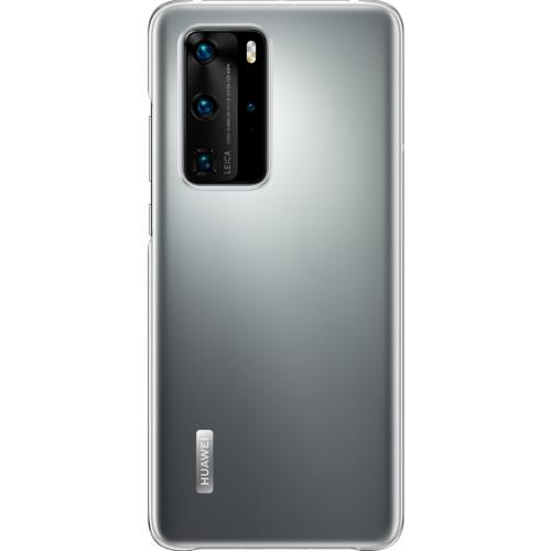 Soft Clear Backcover voor de Huawei P40 Pro - Transparant