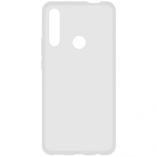 Softcase Backcover voor de Honor 9X - Transparant