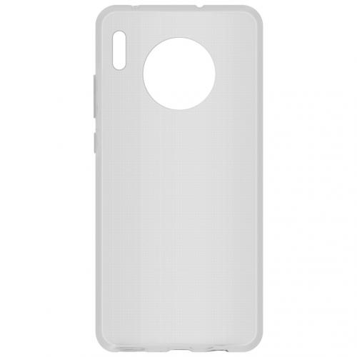 Softcase Backcover voor de Huawei Mate 30 - Transparant